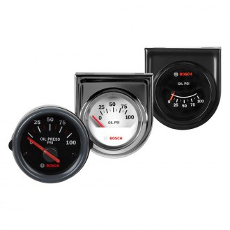 "Bosch® - 2"" Electrical Oil Pressure Gauge"