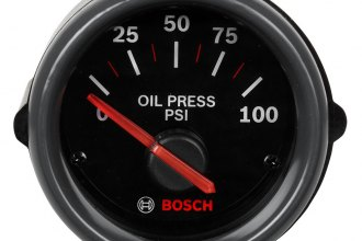 "Bosch® - 2"" Sport ST™ Electrical Oil Pressure Gauge"