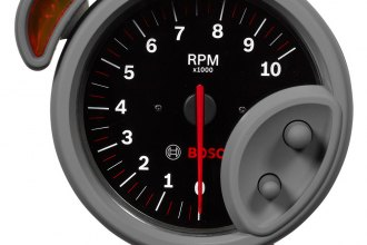 "Bosch® - 5"" Sport ST™ Tachometer with Shift Light (Black Faceplate)"