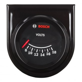 Bosch® - 2 CustomLine™ Electrical Voltmeter Gauge