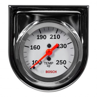 Bosch® - 2 StyleLine™ Chrome Mechanical Oil / Water Temperature Gauge
