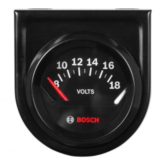 Bosch® - Style Line Series Electrical Voltmeter Gauges