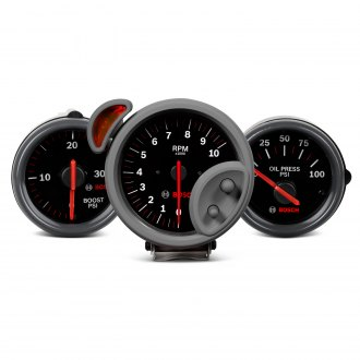 Bosch® - Sport ST™ Black Gauges