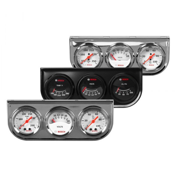 Bosch® - Triple Gauge Kit
