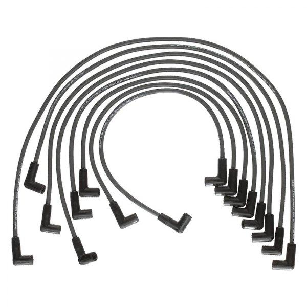 bosch 174 pontiac grand lemans lemans 1976 spark wire set