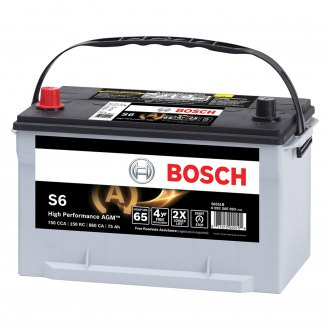 Bosch® - S6 High Performance AGM™ Battery