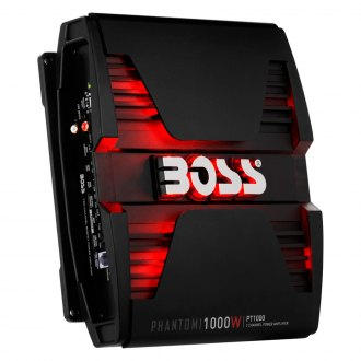 BOSS® - Phantom Series Class AB 2-Channel 1000W Amplifier