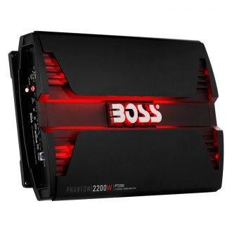 BOSS® - Phantom Series Class AB 2-Channel 2200W Amplifier