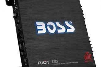 BOSS® - Riot Series Class AB 2-Channel 600W Amplifier