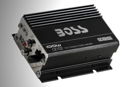 CE102 - BOSS® Chaos Epic Series Class AB 2-Channel 100W Amplifier (HD)