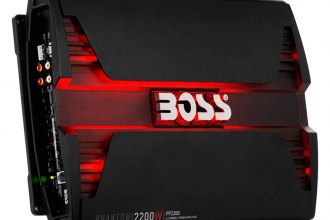 BOSS® - Phantom Series Class AB 4-Channel 2200W Amplifier