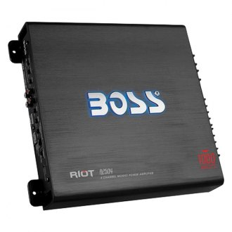 BOSS® - Riot Series Class AB 4-Channel 1000W Amplifier