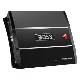 BOSS® - Chaos Fury Series Class D Mono 4000W Amplifier