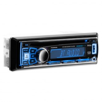 BOSS® - Single DIN CD/AM/FM/MP3/WMA Receiver with Built-In Bluetooth and Multi-Color Illunimation Option