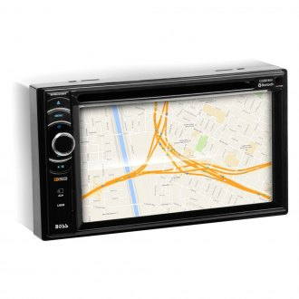 "BOSS® - Double DIN DVD/CD/AM/FM/MP3/WMA Receiver with 6.2"" LCD Monitor, Built-In Bluetooth and Remote Control"