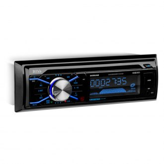 BOSS® - Single DIN CD/AM/FM/MP3/WMA Receiver with Built-In Bluetooth