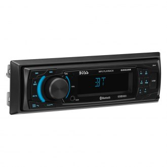 BOSS® - Single DIN AM/FM/MP3/WMA Digital Media Receiver with Built-In Bluetooth and iPod Control