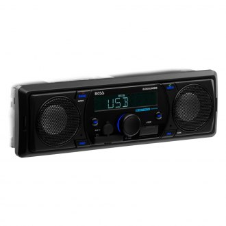 BOSS® - Single DIN AM/FM/MP3 MECH-LESS Receiver with Remote and Built-In Bluetooth