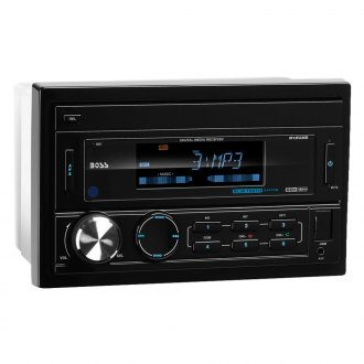BOSS® - Double DIN AM/FM/MP3 Stereo Receiver with Built-In Bluetooth and Detachable Front Panel
