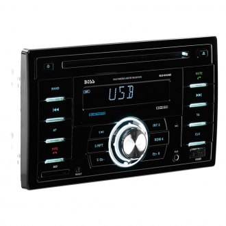 BOSS® - Double DIN CD/AM/FM/MP3 Stereo Receiver with Built-In Bluetooth