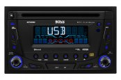 BOSS® - Double DIN CD/AM/FM/MP3 Stereo Receiver with Built-In Bluetooth and Remote Docking