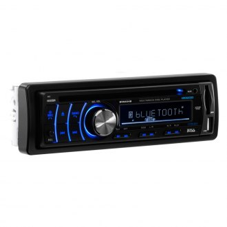 BOSS® - Single DIN DVD/CD/AM/FM/MP3/WMA Receiver with Built-In Bluetooth