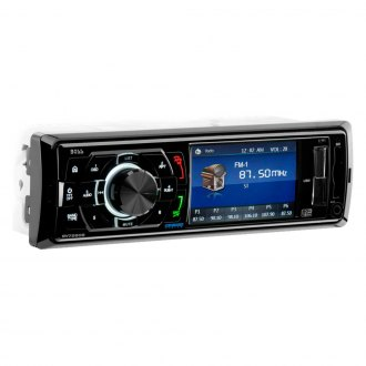 "BOSS® - Single DIN AM/FM/MP3/WMA Receiver with 3.2"" TFT Monitor and Built-In Bluetooth"