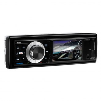 "BOSS® - Single DIN AM/FM/MP3/WMA Mechelss Receiver with 3.2"" TFT Monitor, Built-In Bluetooth and Front Aux"