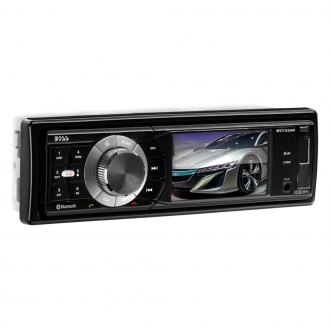 "BOSS® - Single DIN DVD/CD/AM/FM/MP3 Receiver with 3.2"" TFT Monitor with Built-In Bluetooth"