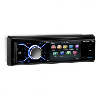 "BOSS® - Single DIN DVD/MP3/CD/AM/FM Receiver with 3.2"" TFT Monitor and Built-In Bluetooth"