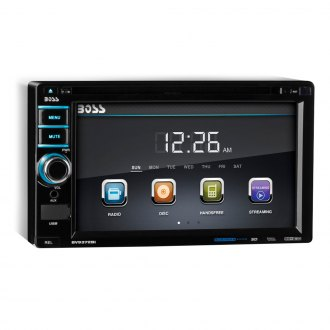 "BOSS® - Double DIN DVD/CD/MP3/AM/FM Receiver with 6.2"" TFT Monitor and Built-In Bluetooth"