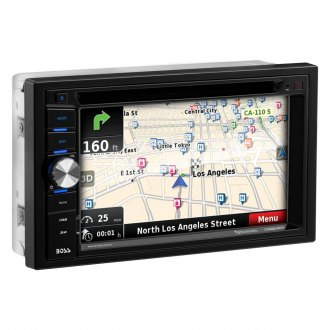 "BOSS® - Double DIN DVD/CD/AM/FM/MP3 Receiver with 6.2"" TFT Touchscreen Monitor, Built-In Bluetooth and GPS Navigation with USA and Puerto Rico Maps"