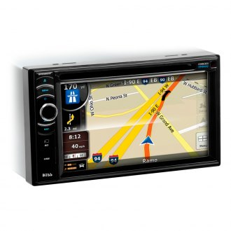 "BOSS® - Double DIN DVD/MP3/CD/AM/FM Receiver with 6.2"" TFT Touchscreen Monitor, Built-In Bluetooth and Navigation with USA, Puerto Rico and Canada Maps"