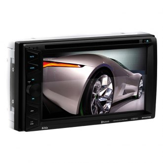 "BOSS® - Double DIN DVD/CD/AM/FM/MP3/WMA Receiver with 6.5"" Touchscreen Display and Built-In Bluetooth"