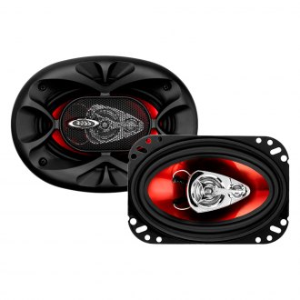 "BOSS® - 4"" x 6"" 3-Way Chaos Exxtreme Series 250W Coaxial Speakers"
