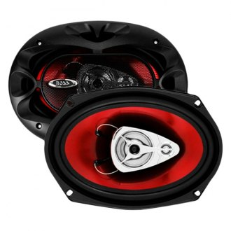 "BOSS® - 6"" x 9"" 3-Way Chaos Exxtreme Series 400W Coaxial Speakers"