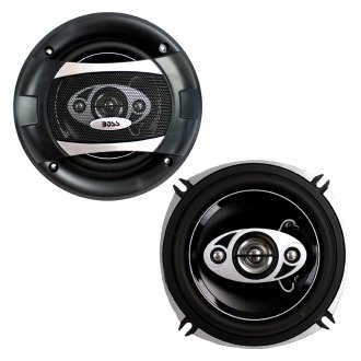 "BOSS® - 5-1/4"" 4-Way Phantom Series 300W Coaxial Speakers"
