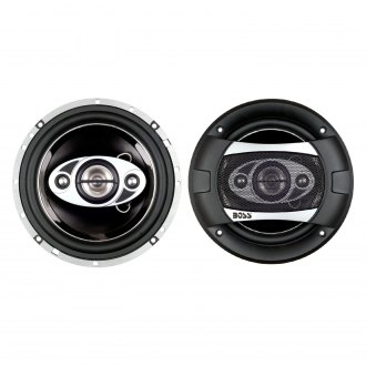 "BOSS® - 6-1/2"" 4-Way Phantom Series 200W Coaxial Speakers"