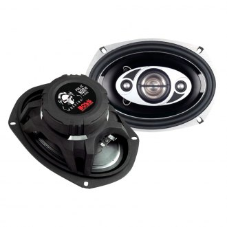 "BOSS® - 6"" x 9"" 4-Way Phantom Series 800W Coaxial Speakers"