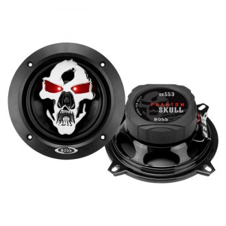 "BOSS® - 5-1/4"" 3-Way Phantom Skull Series 275W Coaxial Speakers"
