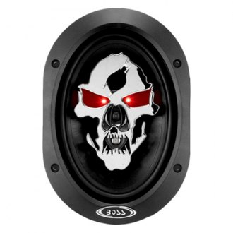 "BOSS® - 5"" x 7"" 3-Way Phantom Skull Series 350W Speakers"