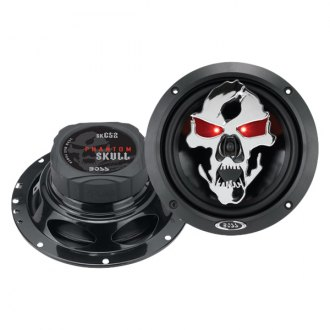 "BOSS® - 6-1/2"" 3-Way Phantom Skull Series 300W Speakers"