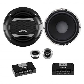 "BOSS® - 6-1/2"" 2-Way Phantom Series 500W Component Speakers"