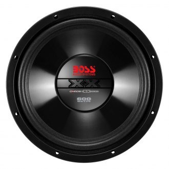 "BOSS® - 10"" Chaos Exxtreme 600W 4 Ohm SVC Subwoofer"