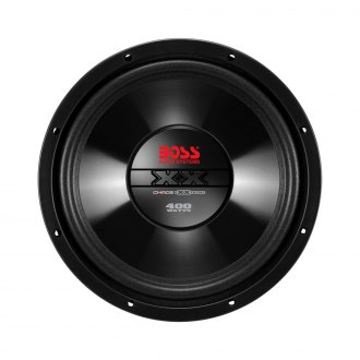 "BOSS® - 8"" Chaos Exxtreme 400W 4 Ohm SVC Subwoofer"
