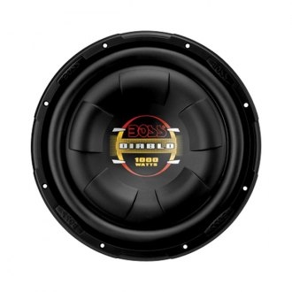 "BOSS® - 12"" Diablo Series Low Profile 1000W 4 Ohm SVC Subwoofer"