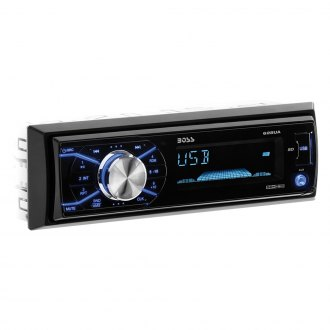BOSS® - Single DIN AM/FM/MP3/WMA Receiver with Remote