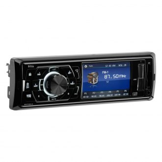 "BOSS® - Single DIN AM/FM/MP3/WMA Receiver with 3.2"" TFT Monitor"