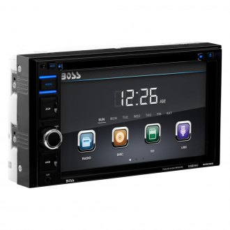 "BOSS® - Double DIN DVD/CD/AM/FM/MP3 Receiver with 6.2"" Touchscreen Display"