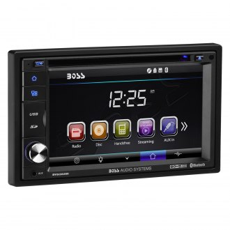 "BOSS® - Double DIN DVD/CD/MP3/AM/FM Receiver with 6.2"" Touchscreen TFT Monitor with Built-In Bluetooth"